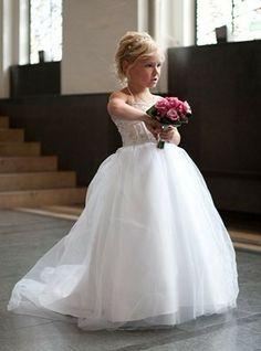 Abby's dress. Color: RED. junior bridesmaid dresses
