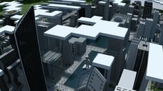 ONO city Minecraft City, Minecraft Designs, Awesome House, Futuristic City, New City, Buildings, House Design, World, Tips
