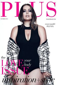 The Body Beautiful: An Empowering Fashion Editorial Featuring Cover Model Fluvia Lacerda - PLUS Model Magazine Curvy Girl Fashion, Plus Size Fashion, Fashion Models, Fashion Beauty, Molliges Model, Model Body, Body Issues, Model Magazine, Mode Editorials