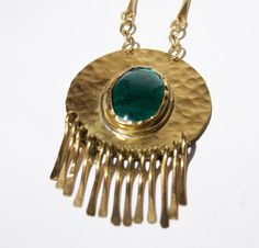 Rafael Canada Necklace in Brass  Large Kinetic  by LuckyPatina