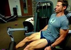 33 Leg Exercises. Andy is an inspiration and doles out lots of helpful suggestions for exercise variations to keep from getting bored.