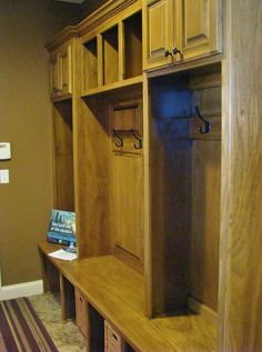 Effortless organization! Made By: Lakeside Cabinets and Woodworking