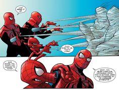 Spider-Ham, Spider-Ben and Old Man Spider in Spider-Verse Team-Up #1