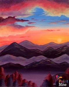 PURPLE MOUNTAIN MAJESTIES ~ Meghan Daly