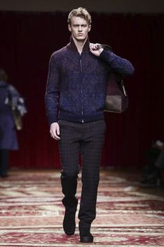 Missoni Menswear Fall/Winter 2015