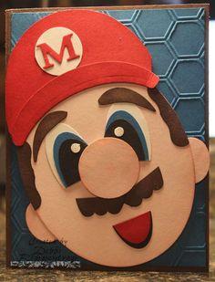 Debbi's Design Stamping: Mario Punch Art