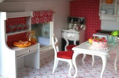I always wanted my very own dollhouse.