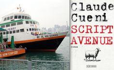 Die Fähre im Hafen von Wan Chai / Hongkong. In der Script Avenue: die Fähre in die Unterwelt. Hongkong, Chai, Script, Underworld, Script Typeface