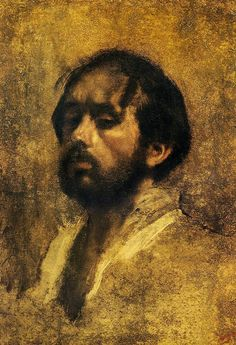 The Athenaeum - Self Portrait (Edgar Degas - circa 1863)