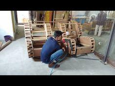 reclainer sofa wood structure making indian design Sofa Table Design, Living Room Sofa Design, Bedroom Bed Design, How To Make Sofa, Latest Sofa Designs, Wooden Sofa Set Designs, Drawing Room Furniture, Patterned Furniture, Leather Corner Sofa