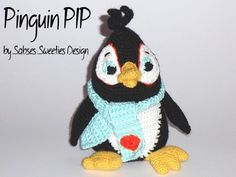 E Book Amigurumi Pinguin PIP #0012 deutsch