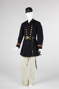 This circa 1863 Union uniform was actually made in Portugal. During the Civil War many Northern uniforms were made in Europe and imported.