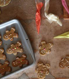 Gingerbreads!! Biscoitos ou bonequinhos de gengibre <3