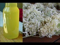 Syrop z kwiatów dzikiego bzu dobry przepis na zdrowie - YouTube