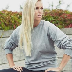 Neutral, Unisex Sweatshirt, grå.