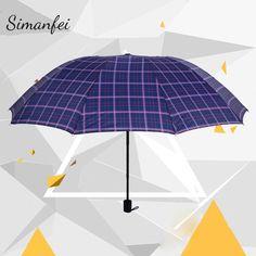 Folding Umbrellas Umbrella Compact Folding Umbrella XAGOO Sunny Rain Umbrella Umbrella Blue Sky for Men and Women
