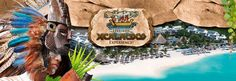 SANDOS CARACOL ECO RESORT & SPA; Playa del Carmen, Mexico; sea-turtle release program, freshwater swimming hole, mangrove swamps, Mayan ruins