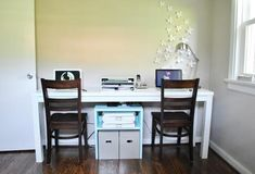 Office Progress: A New Home For The Wallflowers | Young House Love