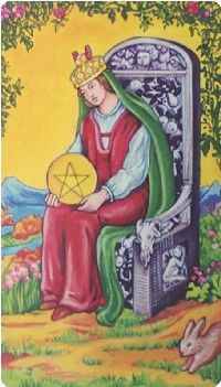 Queen of Pentacles Tarot Card Meanings tarot card meaning