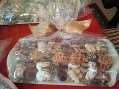 Christmas cookie assortment. Our traditional gift for friends.