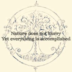 Quote nature is perfect