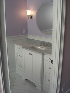 Jack jill bathroom jack jill bathrooms pinterest for Jack and jill bathroom vanity