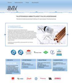 JMV Talotekniikka - http://www.jmv-talotekniikka.fi/ #nettisivut #kotisivut