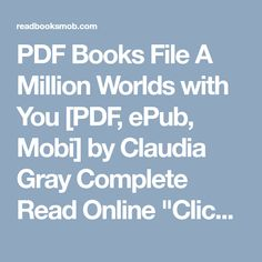a million worlds with you read online free