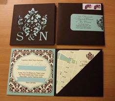 wedding invitation ideas with cricut