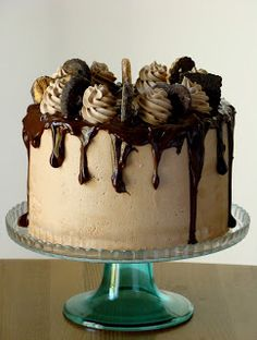 Stella's Κουζινομπερδέματα: Τούρτες χωρίς Ζαχαρόπαστα-Dripping Cakes