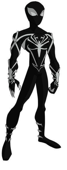trajes de negro super heroes civil war