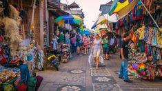 The Ubud Art Market, locally referred to as 'Pasar Seni Ubud' is located opposite the the Puri Saren Royal Ubud Palace and is open daily. Here you can find beautiful silk scarves, lightweight shirts, handmade woven bags, baskets or hats; statues, kites and many other hand-crafted