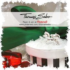 One lucky winner will be drawn on December 18, 2012! Important: Your facebook or twitter account must be linked to your Pinterest profile! Terms and conditions:   images.thomassabo...