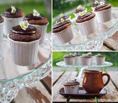 Gluten og laktosefri muffins med sjokoladebiter
