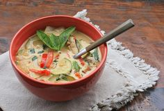 Vegan Thai Vegetable Soup | Girl Cooks World
