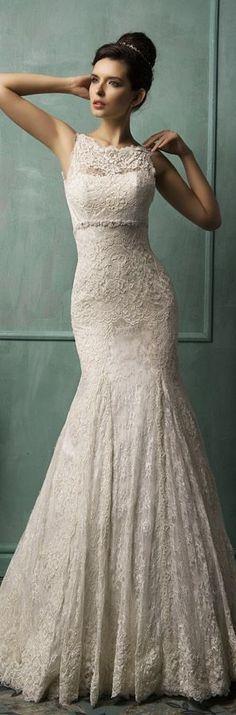 Amelia Sposa Bridal 2014 ~ Bianca - Sleeveless Wedding Dress