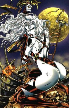 robinson-alexandre:  Lady Death iby Mike Deodato Jr.