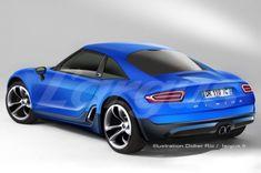 La future Alpine se positionnera entre une Alfa Romeo 4C et une Porsche Cayman Nouvelle Alpine Renault : et si la future Berlinette ressembl...