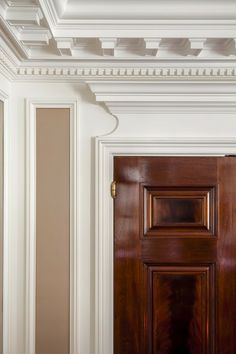 TRIM DETAIL – How to bring out your home's character with trim. John B. Murray, Architect.