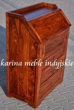 kolonialny sekretarzyk KH-64491 brown