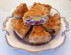 In the shop... Oh my! It's ham & egg pie. pic.twitter.com/ss7AgcTIkq