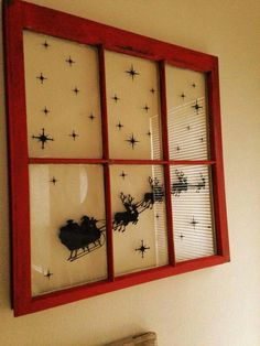 Cute Christmas window