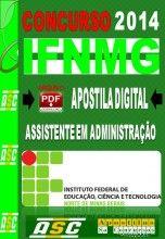 Apostila Concurso IFNMG Assistente Em Administracao 2014 Apostilas So Concursos Apostila Digital