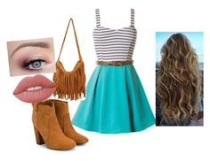 """""""Going On A Date: Lyla's  Outfit"""" by child1of1apollo ❤ liked on Polyvore featuring Laurence Dacade and Lime Crime"""