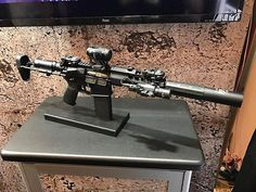 """WEBSTA @ ar15news - Amazing @Lantac_USA PDW with their new optic mount, E-CT1 trigger and the @GemtechSilencer """"The ONE"""" suppressor attached to the new Dragon QuickMount. -#Repost @aaronp220・・・One of the cool guns on our booth. Stop by booth 20652!! #Lantac #MuzzleBrake #SHOT2017"""