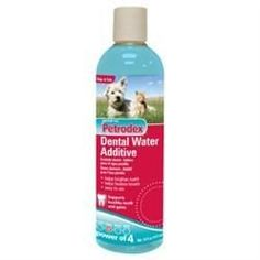 Petrodex Dental Water Additive For Dogs & Cats, 16 oz