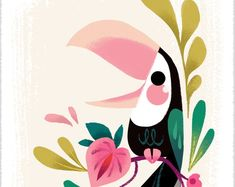 Printed with an Epson Sure Color printer on Epson Velvet Fine Art Paper. Each print is packaged in a clear bag with backing board and shipped to you in a stiff envelope. This dainty print measures Oh, and it is signed by me Brittney Lee, Art Et Illustration, Bird Art, Fine Art Paper, Watercolor Art, Folk Art, Art Drawings, Canvas Art, Artwork