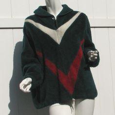Vintage Fuzzy Fleece Kodiak Pullover by Campus by VintageCreekside, $18.00