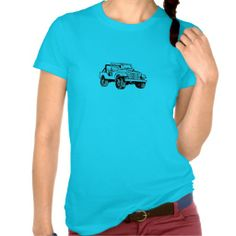 Jeep Girl 3 T Shirts