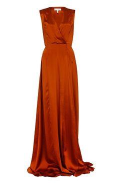 9 Beautiful and Stylish Orange Dress Designs for Women Burnt Orange Bridesmaid  Dresses 27bef73e00e8